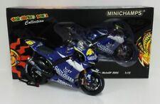 MINICHAMPS VALENTINO ROSSI 1/12 MODELLINO MOTO YAMAHA 2005 DECAL GAULOISES RARE