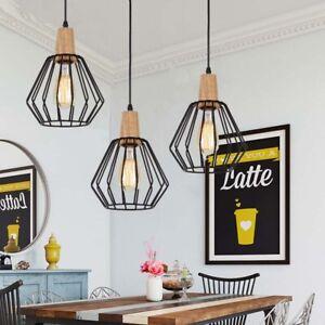 Black Pendant Light Modern Chandelier Lighting Home Ceiling Lamp Kitchen Lights