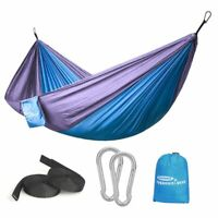 Camping Hammock 2 Person Outdoor Parachute Double Tent Lightweight with Straps