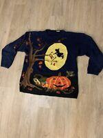 Vintage Halloween Cotton Sweater