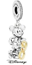 Pandora Disney Charm 797497cz novantesimo Compleanno di Mickey Mouse busta