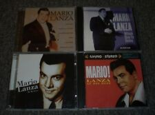 4 Mario Lanza CDs~The Voice Of~At His Best~Be My Love~When Day Is Done~FAST SHIP