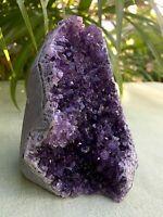 Large Amethyst Cluster Geode Crystal Quartz Cut Base Amethyst Specimen Uruguay #