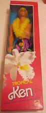 Vintage Mattel Tropical Ken doll NRFB 1985