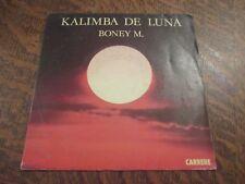 45 tours BONEY M kalimba de luna
