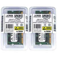 4GB KIT 2 x 2GB HP Compaq Presario V6590ES V6592ES V6594ES V6595ES Ram Memory