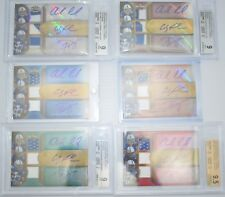 ANDREW LUCK 2012 Triple Threads #1/1 RAINBOW RC Pigskin Platinum Patch RPA AUTO