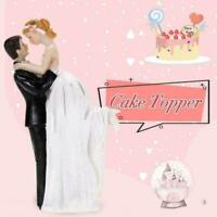 Mr And Mrs Wedding Cake Topper Brides Groom Dancing N5P9 Couple Resin P7X2