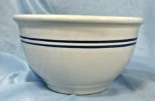 Vintage Gibson Double Blue Line Mixing Bowl Small