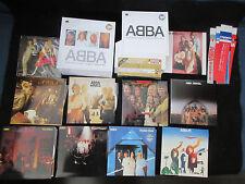 ABBA 30th Anniversary Japan 9 Mini LP CD Box Set incl Mini OBI, Paper Sleeve CD