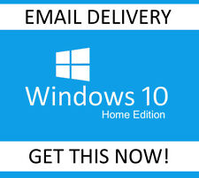 GENUINE WINDOWS 10 HOME KEY 32 / 64BIT ACTIVATION CODE LICENSE KEY