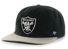 the best attitude 5415d bed90 Oakland Raiders Logo NFL Football  47 BRAND Marvin Captain Snapback Hat -  Black