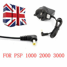 Pared Cargador Adaptador USB Red De Reino Unido Enchufe para Sony PSP 1000 2000 Slim & Lite 3000