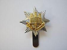 Royal Anglian Beret Cap Badge  British Military - Brass Base Metal