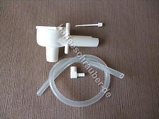 Saeco Cappuccinatore Cappumore Milchaufschäumer weiß komplett Schlauch + Raccord