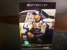 Jimmie Johnson #48 Lowe's Press Premium 2010 Card #56 SUITED UP