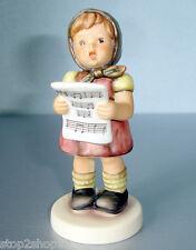 "M.I. Hummel My Sweet Song #570 Club Girl Figurine 4""H New"