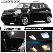 19x White Interior LED Lights Bulb Package Kit Fits 2015 Mini Cooper Countryman