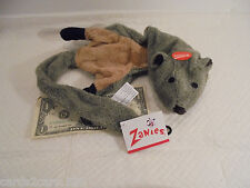 "Zanies UNSTUFFIES 22"" Gopher Plush Dog Pet Toy Squeaks No Messy Filling #ZA91824"