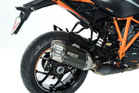 SILENCIEUX BOS DESERT FOX CARBONE KTM SUPERDUKE 1290 R / GT 2017 - 1740129CS