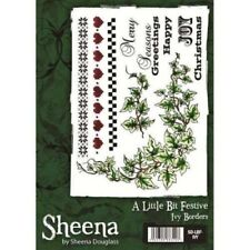 Sheena Douglass IVY BORDERS Rubber Stamp