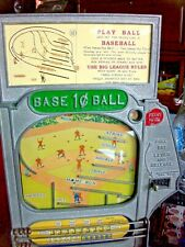 1930's Atlas Indicator Works Baseball Trade Stimulator Replacement Marquee