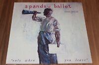 """Spandau Ballet – Only When You Leave (1984) (Vinyl 12"""") (Chrysalis – 601 357)"""