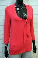 Maglia Donna HENRY COTTON'S Taglia 44 Blusa Maglietta Manica 3/4 Shirt Women's