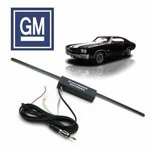 1964-77 GM A-Body Hidden Amplified Radio Antenna FM Stereo 400 skylark regal 350