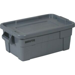 Rubbermaid Commercial Brute Storage Tote with Lid
