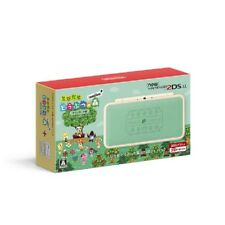 Nintendo 2Ds Ll Animal Crossing Leaf Japanese Ver. From Japan New With Tracking