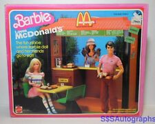 Vintage New Sealed 1982 BARBIE LOVES MCDONALD'S RESTAURANT COMPLETE ORIGINAL BOX