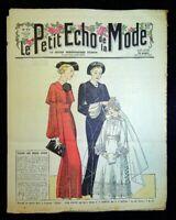Le Petit Echo de la Mode année 1936, Ancien magazine Français N°14