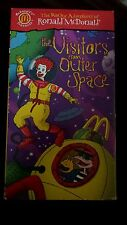 The wacky adventures of ronald mcdonald, the visitors from outer space, vhs movi