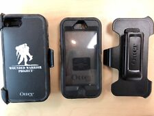 OtterBox Defender Series Case & Holster for iPhone 5 5s Wounded Warrior Black