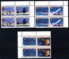 MARSHALL ISLANDS - 1987 - Aviatori famosi e astronauti -