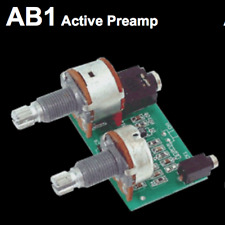 Artec AB1 active acoustic guitar preamp with piezo and jack kit