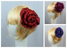 Lane Bryant Lot Of 3 Hair Flower Brooch Pin Clip Wedding Accessory Fascinator