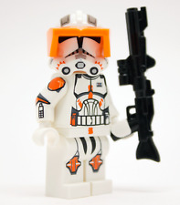 Lego Star Wars - Custom Trooper Clone Commander Cody + DC15A Blaster/Visor