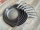 Griswold Small Logo Groove Handle #'s 3 thru 9 Cast Iron Skillets, restored