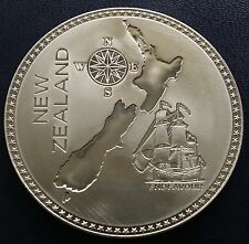 New Zealand 1887 Pewter Retro Pattern Proof Crown