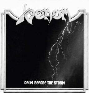VENOM Calm Before The Storm (2020) Limited Edition Clear vinyl LP NEW/SEALED