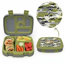 Kids Lunch Box with 5-Compartment, Leak-Proof BPA-Free and Food-Safe Materials.