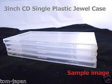 "Set of 4 CD3 3"" 3 inch 8cm CD SINGLE JAPAN Snap pack Single Plastic Jewel Case"