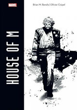 HOUSE OF M EXCLUSIVE TABLOID HARDCOVER HC ARTIST EDITION B&W OLIVIER COIPEL Comic Art