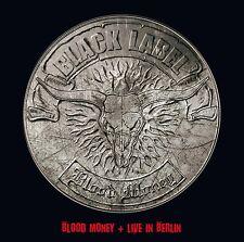 BLACK LABEL - BLOOD MONEY+LIVE IN BERLIN 2 CD NEU