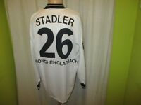 Borussia Mönchengladbach Reebok Langarm Matchworn Trikot + Nr.26 Stadler Gr.XL
