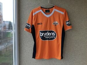 Wests Tigers Rugby Shirt 2016/2017 Training Jersey ISC Size S NRL Australia