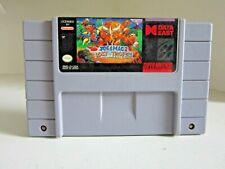 Joe & Mac 2 Lost in the Tropics Super Nintendo SNES Game only. Authentic.