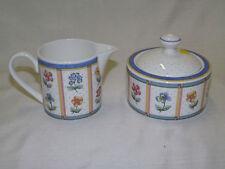 Villeroy & Boch - JULIE - Covered Sugar Bowl & Creamer
